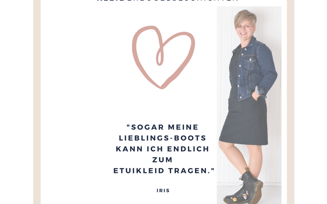 """""""Sogar meine Dr. Martens Boots passen zum Etuikleid!"""""""